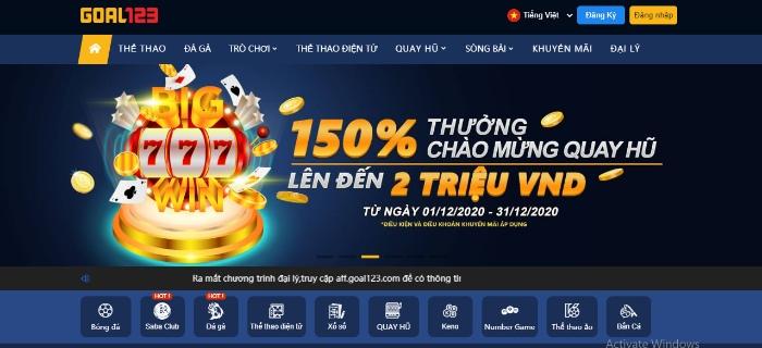 Casino trực tuyến Goal123 là một game bài nổi tiếng