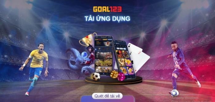 Goal123 đã có tích hợp ứng dụng trên cả hệ điều hành IOS và Android